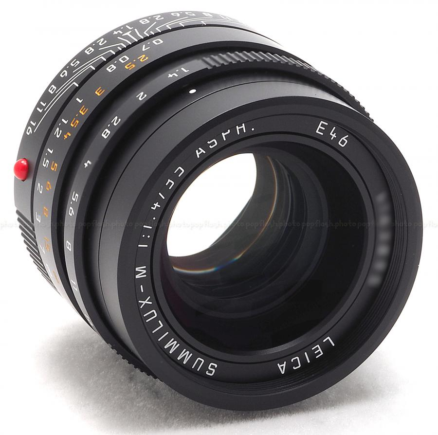 LEICA 35MM F/1.4 ASPH. SUMMILUX-M BLACK 6-BIT LENS #11663 USA NEW!