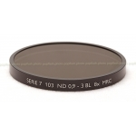 B+W SERIES VII 103M ND(NEUTRAL DENSITY) 0.9-3 BL 8X MRC BLACK FILTER #1070630 NEW