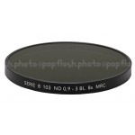 B+W SERIES VIII 103M ND(NEUTRAL DENSITY) 0.9 8X MRC BLACK FILTER #1070631 NEW