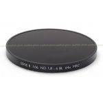 B+W SERIES VIII 106M ND(NEUTRAL DENSITY) 1.8 64X MRC BLACK FILTER #1070638 NEW