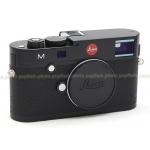 LEICA M BLACK PAINT DIGITAL CAMERA BODY #10770 USED MINT!