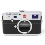 LEICA M SILVER CHROME DIGITAL CAMERA BODY #10771 USED MINT!