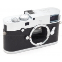 LEICA M-P (TYPE 240) SILVER CHROME DIGITAL CAMERA BODY #10772 USED-MINT