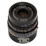 Leica 35mm f2.5 Summarit-M 6-BIT black LENS #11643 USED