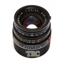 Leica 50mm f2.5 SUMMARIT-m 6-BIT BLACK LENS #11644 USED