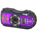 Pentax WG-3 PURPLE Digital Camera with GPS Kit USA NEW