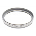 LEICA E39MM UVA FILTER SILVER NEW