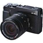 FUJIFILM X-E1 BLACK DIGITAL CAMERA KIT w/ XF 18-55MM F/2.8-4 LENS USA NEW