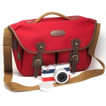 *SPECIAL COMBO* LEICA X (Type 113) 'EDITION MONCLER' DIGITAL CAMERA #18423 MINT with NEW Billingham Hadley Pro Bag (Burgundy with Chocolate Leather Trim)