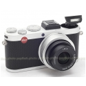 LEICA X2 SILVER DIGITAL COMPACT CAMERA USA NEW!