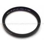 B+W 49MM 010 UV-HAZE MRC FILTER NEW BLACK