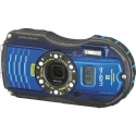 RICOH WG-4 BLUE Digital Camera with GPS Kit USA NEW