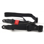 ARTISAN & ARTIST* ACAM-E25R BLACK CAMERA STRAP NEW!