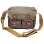 Billingham Small Hadley Bag (Sage with Chocolate Leather Trim) NEW