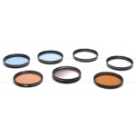 B+W & TIFFEN 62MM FILTERS (SET OF 8) USED