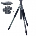 GIOTTOS MT-9251 CLASSIC ALUMINUM 3-SECTION TRIPOD NEW with MH-1000 BALLHEAD