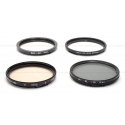 HASSELBLAD BAY 60 PL POLARIZING & CR 1.5 81A FILTER SET USED