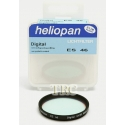 HELIOPAN 46MM UV/IR BLACK FILTER #704686 USED