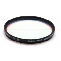 HELIOPAN 55MM UV/IR BLACK FILTER #705586 USED