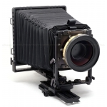 K.B. CANHAM 5x7 METAL VIEW LARGE FORMAT CAMERA (MQC57) USED with SCHNEIDER-KREUZNACH 550MM F/11 FINE ART XXL LENS & COPAL 3 SHUTTER