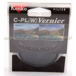 KENKO 77MM BLACK VERNIER CIRCULAR POLARIZING FILTER