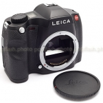 LEICA S2-P MEDIUM FORMAT DSLR BLACK CAMERA BODY USED-MINT