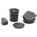 LEICA 21MM F/2.8 ASPH. ELMARIT-M BLACK (NON 6-BIT CODED) LENS #11135 USED-MINT with LEICA 21MM VIEWFINDER #12012