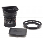 LEICA 18MM F/3.8 ASPH. SUPER-ELMAR-M BLACK (6-BIT CODED) LENS #11649 USED