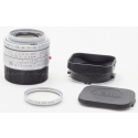 LEICA 35MM F/2 ASPH. SUMMICRON-M SILVER 6-BIT CODED LENS #11882 USED