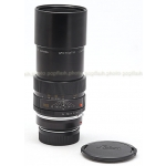 LEICA LEITZ CANADA 180MM F/3.4 APO-TELYT-R (NON ROM) BLACK LENS USED with LEITZ 22228 R-M ADAPTER