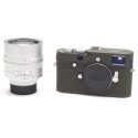 LEICA M-P (TYPE 240) SAFARI DIGITAL CAMERA KIT w/ 50MM F/0.95 NOCTILUX SILVER LENS USED-MINT