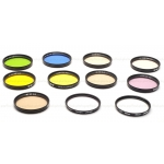 B+W & NIKON 52MM FILTERS (SET OF 11) USED