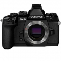 Olympus OM-D E-M1 BLACK Mirrorless Micro Four Thirds Digital Camera Body NEW