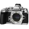 Olympus OM-D E-M1 SILVER Mirrorless Micro Four Thirds Digital Camera Body NEW (PRE-ORDER)