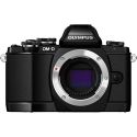 Olympus OM-D E-M10 Micro Four Thirds BLACK Camera Body Only!