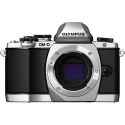 Olympus OM-D E-M10 Micro Four Thirds SILVER Camera  Body Only!