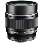 Olympus M.Zuiko Digital ED 75mm f/1.8 BLACK Lens NEW