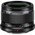 Olympus M.Zuiko Digital 25mm f/1.8 BLACK Micro 4/3 Lens NEW