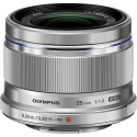 Olympus M.Zuiko Digital 25mm f/1.8 SILVER Micro 4/3 Lens NEW