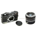 ZEISS IKON BLACK BUNDLE CAMERA BODY + 35MM F/2.8 C BIOGON LENS KIT USA NEW