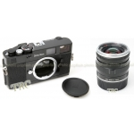 ZEISS IKON BLACK BUNDLE CAMERA BODY + 35MM F/2 BIOGON LENS KIT USA NEW