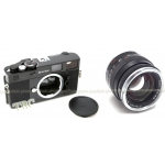 ZEISS IKON BLACK BUNDLE CAMERA BODY + 50MM F/2 PLANAR LENS KIT USA NEW