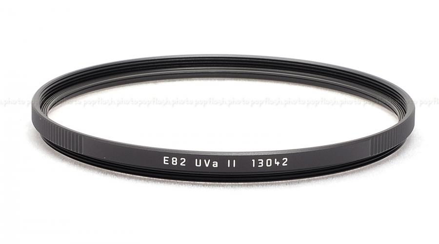 LEICA 82MM UVA FILTER BLACK #13042 USA NEW
