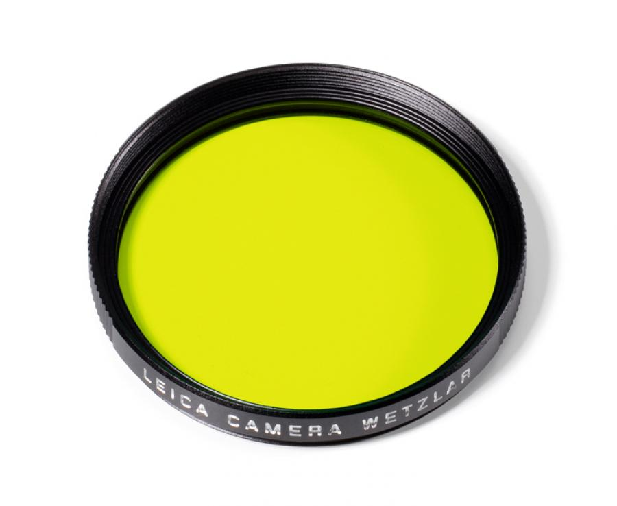 LEICA 39MM YELLOW FILTER #13062 USA NEW