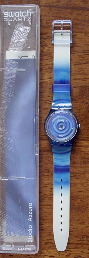 SWATCH GK232 TEMPO NATURALE WATCH NEW!