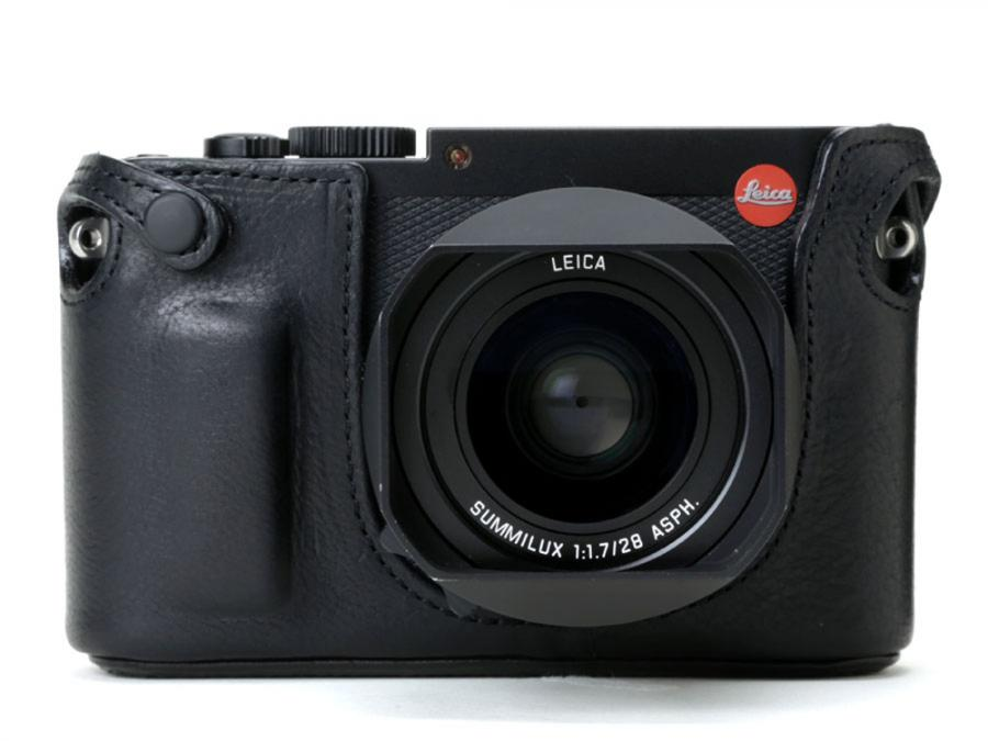 ARTISAN & ARTIST* LMB-Q (for Leica Q/Q2) BLACK LEATHER HALF CASE NEW