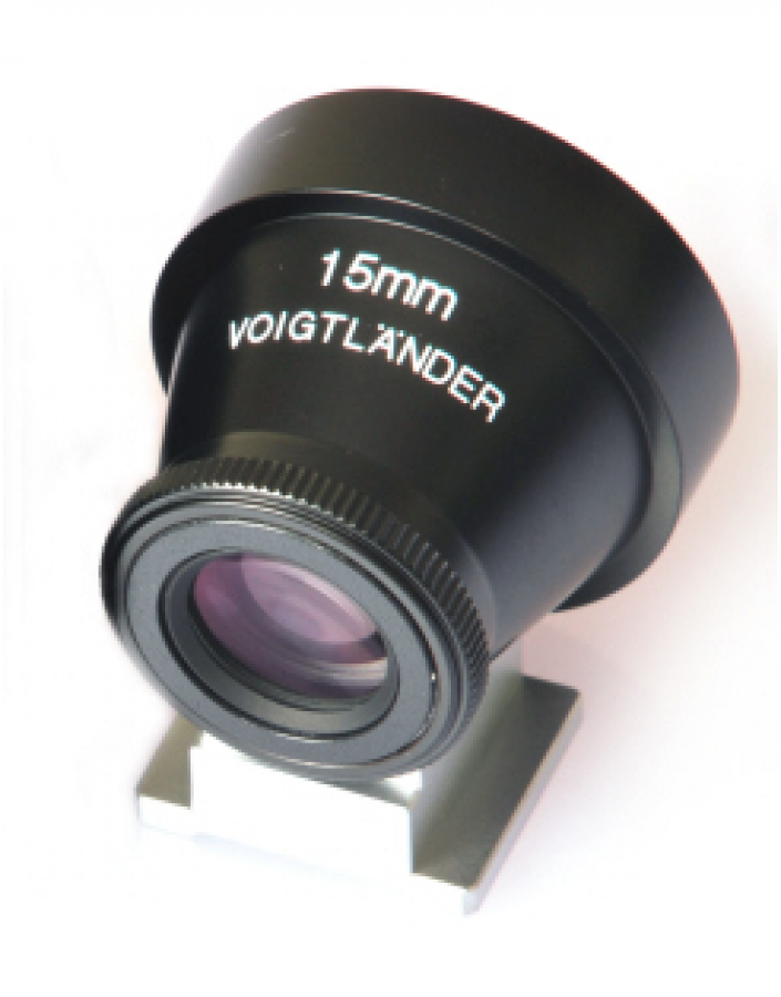 VOIGTLANDER 15MM METAL OPTICAL VIEWFINDER NEW