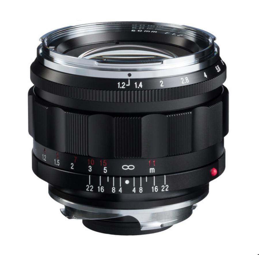 VOIGTLANDER 50MM F/1.2 NOKTON ASPHERICAL (LEICA M-MOUNT) LENS NEW - SOLD OUT ON FIRST DELIVERY!