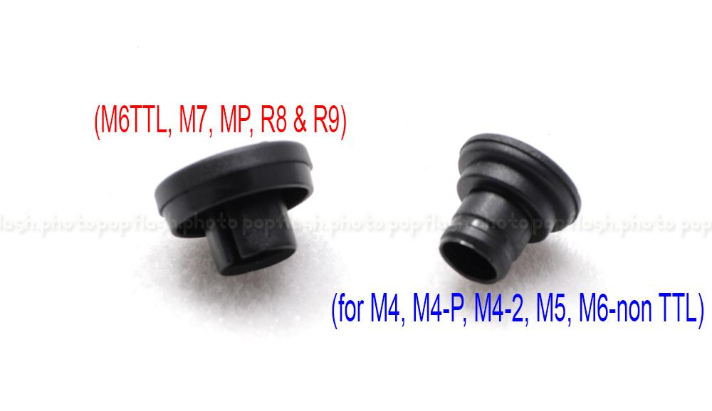 LEICA FLASH SYNC CAP/COVER NEW - (for M4, M4-P, M4-2, M5, M6-non TTL)