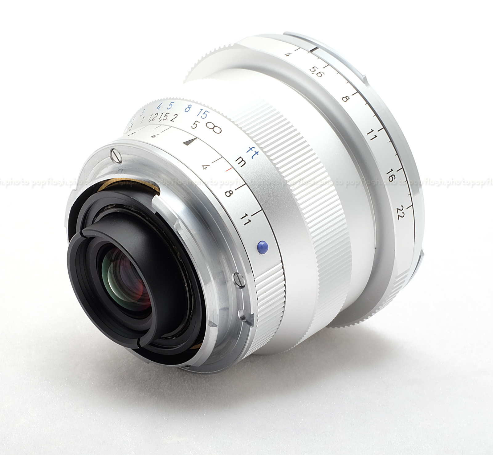 Zeiss Distagon 18mm F 4 T Silver Zm Lens Usa New